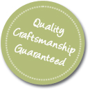 Our Quality Craftsman Guarantee:  We pride ourselves in hand turning, craftsman rolling pins that will be cherished for years and generations to come. If for any reason after 15 days of arrival, you do not feel the same way about our Vermont Rolling PIns, please return your Vermont Rolling Pin in excellent condition and we will exchange it or issue a refund (excluding shipping and handling fees).