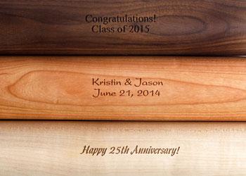 Rolling Pin Engraving Fonts